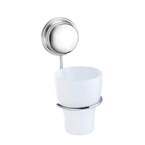 Croydex No screws Stick n Lock Bathroom Tumbler